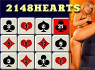 2148-Hearts strip game