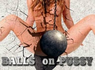 Balls on Pussy adult game