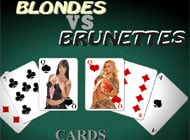 Blonds Vs Brunettes: Cards adult game