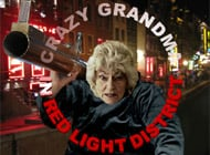 Crazy Grandma in Red Light District adult game