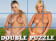 Double Puzzle strip game