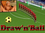 Draw n Ball strip game