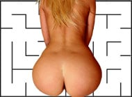 Draw-a-Maze adult game