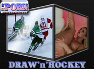 Draw n Hockey adult game