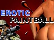 Erotic Paintball strip game