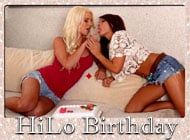 Birthday VideoHiLo adult game