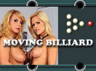 Moving Billiard adult game