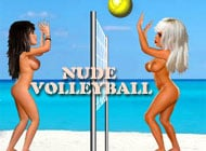 OlympiXXX: Nude Volleyball strip game