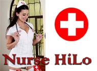 Nurse HiLo adult game