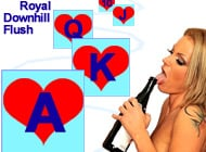 Royal Downhill Flush adult game