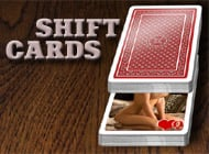 Shift Cards strip game