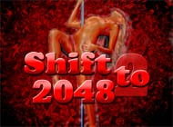 Shift to 2048 strip game