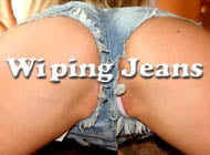 Wiping Jeans adult game