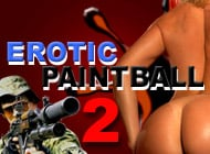 Erotic Paintball-2 adult game